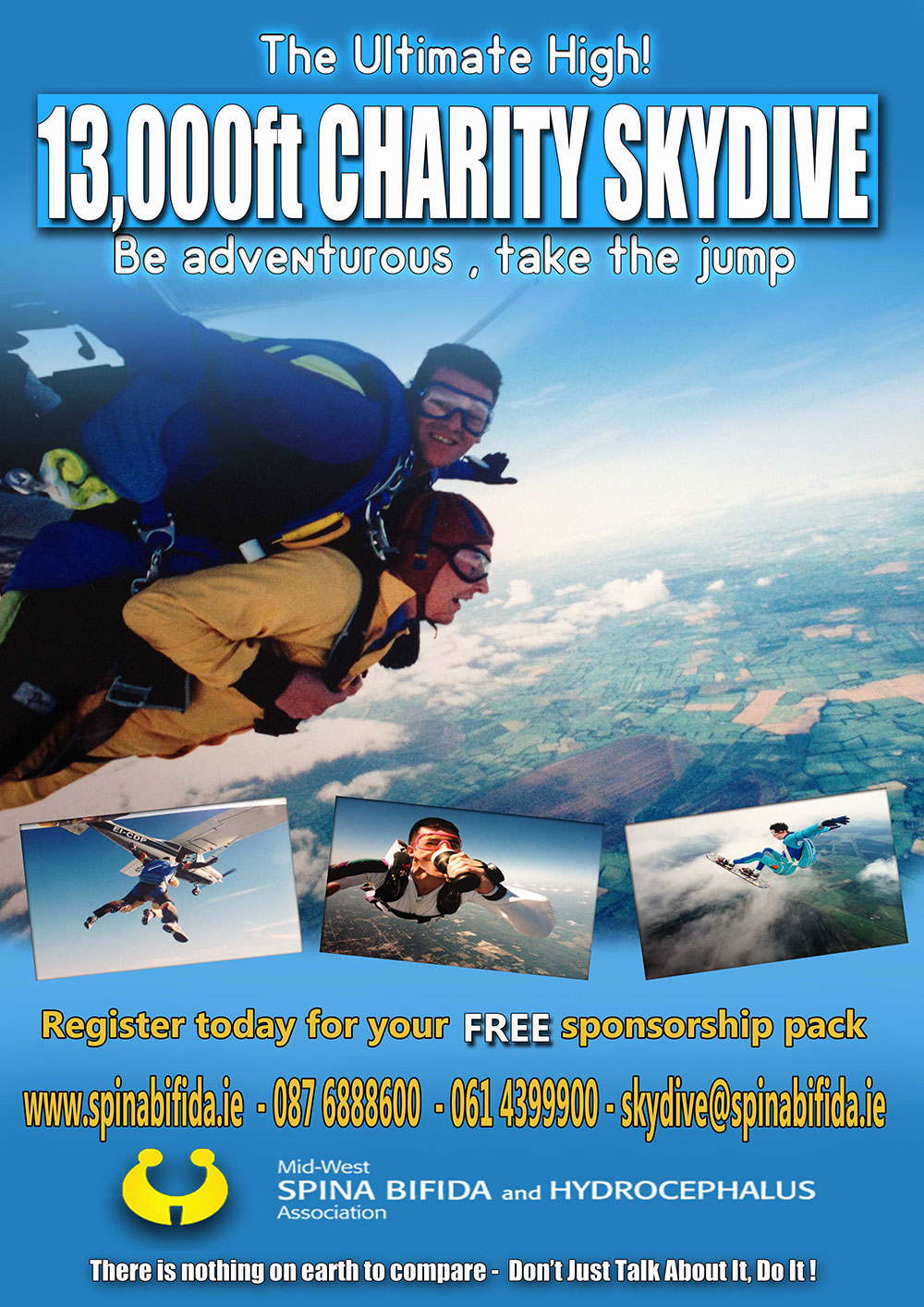 Skydive Challenge poster